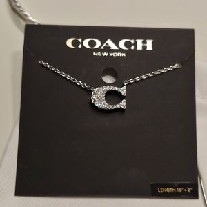 🆕 Silver Coach Necklace
